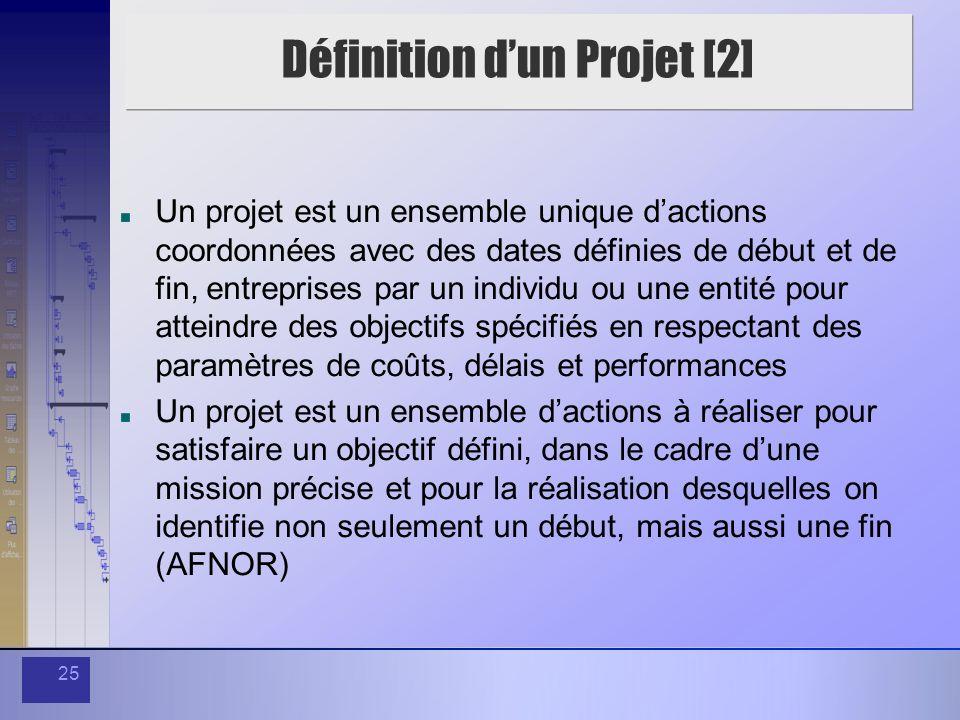 Définition d'un Projet [2]